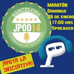 Lapodcastfera apoya las Jpod14Bar