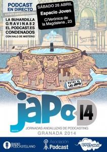 cartel de las JAPOD14