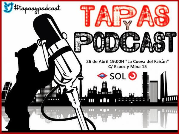 cartel de las Tapas y podcast