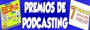 PREMIOS DE PODCASTING 2016