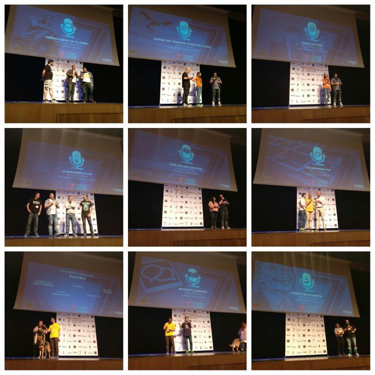 VII Premios de la Asociación Podcast 1
