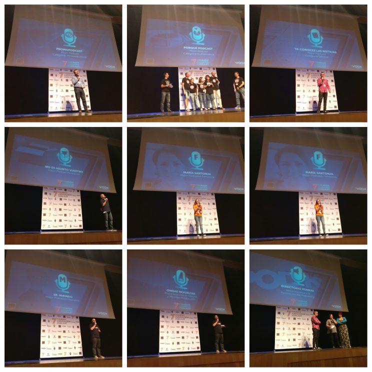 VII Premios de la Asociación Podcast 2